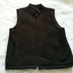 "SALE Brown Soft Colorado Clothing Vest Cuddly Warm Brown Soft Colorado Clothing Vest 100% Polyester 23"" from top of shoulder to bottom 20"" from armpit to armpit Colorado Clothing  Jackets & Coats Vests"