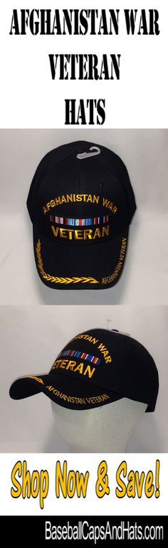 Afghanistan War Veteran Hats - Check Out these Afghanistan War Veteran Hats  now available in our 164f042efef0a
