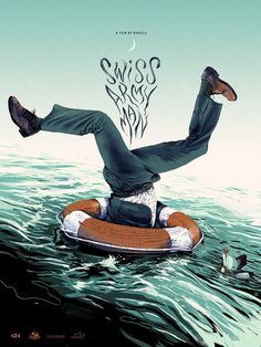 Tomorrow we will have a couple new posters by Oliver Barrett for one of the best and most bizarre movies to come out last year: SWISS ARMY MAN. The movie - by d