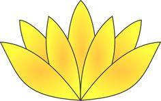Gold: A symbol of complete and total enlightenment, the gold lotus often represents the Buddha. It represents having reached full enlightenment and having achieved all that can be achieved.
