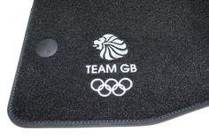 Nissan Qashqai Team GB Olympic Floor Velour Mats New Genuine Limited 9999823421