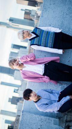 Kookie, TaeTae y Min Yoongi ❤