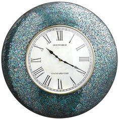 LOVE,LOVE,LOVE this Peacock Mosaic Clock !!