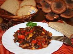 Houbové soté Pork Recipes, Beef, Fit, Meat, Shape, Steak