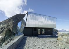 tracuit mountain hut - val d'anniviers, zinal - savioz fabrizzi - 2013 - photo thomas jantscher