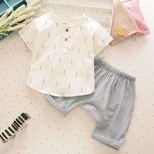 Novos de Verão para Crianças Meninos Roupa Dos Miúdos Calças Curtas T-shirt de Algodão Confortável Conjunto Roupas Meninos Desenhos Animados(China (Mainland))