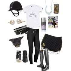 Training the OTTB by laurenwink on Polyvore featuring polyvore, fashion, style, Tiffany & Co., Ariat and Victoria's Secret