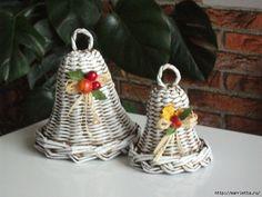 плетение из газет. рождественские идеи (56) (700x525, 264Kb)