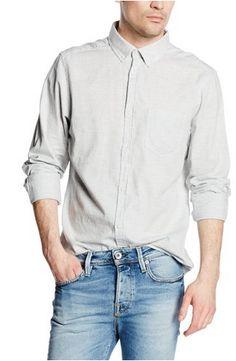 New Look Men's Linen Look Long Sleeve Slim Fit Formal Shirt. You can also find #Mens #Linen #FormalShirts only at: menformalshirts.co.uk