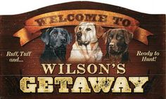 Cabela's: Wild Wings® Personalized Signs