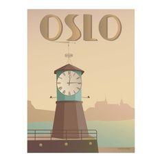 Vissevasse OSLO Aker brygge