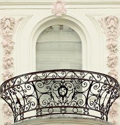 I like the idea of doing a circular banister for my balcony, or even just a rounded banister.