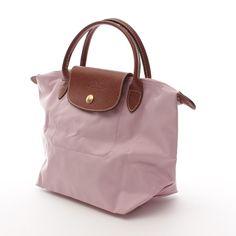 Klassische Handtasche von Longchamp in Rosa Gr. Small