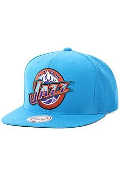 Utah Jazz Wool Solid 2 snapback from Mitchell & Ness. No matter what, snapbacks that feature the Utah Jazz always look fresh. This snapback features a large Nba Caps, Utah Jazz, Snap Backs, Snapback Cap, Caps Hats, Baseball Hats, Wool, Basketball, Stuff To Buy