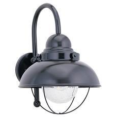 1 Noir Light Incandescent mur Lanterne extérieure