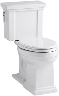 KOHLER K-3950-0 Tresham Comfort Height Two-Piece Elongated 1.28 GPF Toilet with AquaPiston Flush Technology and Left-Hand Trip Lever, Whiteby Kohler4.2 out of 5 stars 32 customer reviews | 27 answered questionsList Price:$475.85 Price:$373.50 Free Shipping for Prime Members