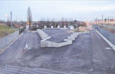 Het containerpark is ook een publieke ruimte, en dus een kans voor architectuur!  http://www.architectura.be/nieuwsdetail_new.asp?id_tekst=4878=Bovenbouw+architectuur+ontwikkelt+5+nieuwe+recyclageparken+in+Antwerpen