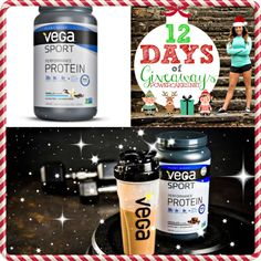 VEGA NEWLY FORMULATED 12 DAYS 2015 GIVEAWAY!