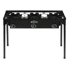 Camping Stoves 181386: Stansport 217 300 Outdoor Stove With Stand   3  Burners