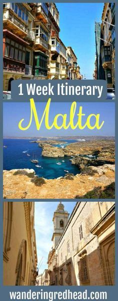 One Week Itinerary for Malta