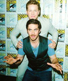Colin and Josh