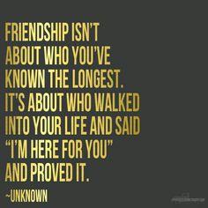 Rebuilding a #friendship