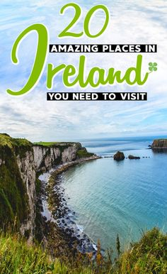 20 places you need to see on your Ireland trip. Written by a Brit. Im so glad I found these Ireland travel tips! #IrelandTrip #IrelandTravel #Ireland #IrelandVacation #IrelandTravelTips #TravelToIreland #Ireland2019