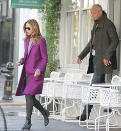 Trinny Woodall & Charles Saatchi 'dating' six weeks after his divorce Pink Outfits, Date Outfits, Trinny Woodall, Nigella Lawson, Winter Wardrobe, Fashion Advice, Divorce, Saatchi, Winter Outfits