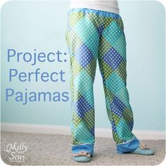 See these pajama pants? I have been sleeping in them every time they're clean since I made them as part of my contributor posts at The Sewing Loftin January. I'm bringing these tutorials home, so today I'm going to show you how to draft a pajama pattern for a perfect fit – based on a Read the Rest...