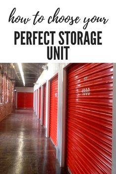 Each storage unit size serves a purpose. Learn which one will best fit your needs by clicking the link. Storage Solutions, Storage Ideas, Storage Unit Sizes, Self Storage, Your Perfect, Kitchen Organization, Purpose, The Unit, Learning