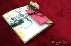 "HappyMel'Scrap: Mini Album ""Diario di Bordo"""