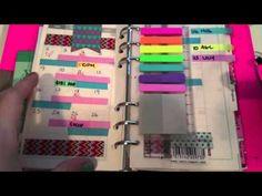 ▶ How I Colour Code My Filofax! - YouTube