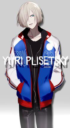 Yuri Plisetsky - Yuri!!! on Ice by 稲目 on pixiv (id: 15340840)