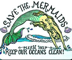 Save the Mermaids is a small grassroots nonprofit dedicated to addressing and working to solve environmental issues associated specifically with the ocean.