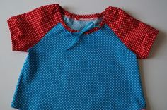 Lovely shirt with little dots.