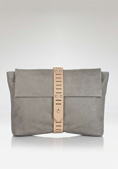 ALLIBELLE Clutch, Mohawk ($230). Love. You? (Here's 9 more, btw: http://www.thekit.ca/fashion/accessories/10-clutch-bags-to-covet-this-season/)