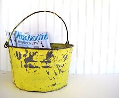 . I absolutely love old buckets..