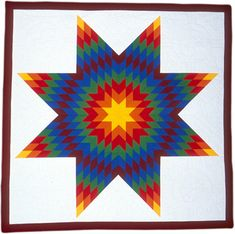 Native American Star Quilts | indian and native hawaiian quilt collection native american star quilt ...