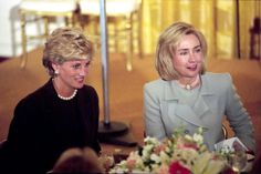hillary with princess diana - Google Search
