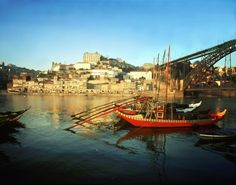 Typical Rabelo boat - Ribeira - Porto by Joao Paulo. Top 10 Places to Visit in Portugal Places In Portugal, Portugal Travel, Great Places, Places To See, Douro Portugal, Porto City, Parque Natural, Douro Valley, Travel Tours