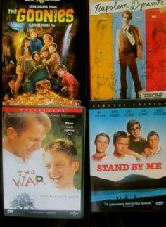Favorite coming of age movies for the underdog. The Goonies, Napoleon Dynamite, The War, Stand By Me