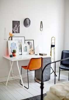 modern home office / photo by sara landstedt