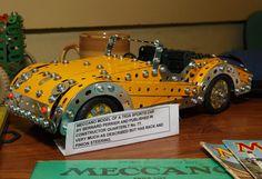 Meccano Triumph  TR3A Sports Car by Bernard Pèrier