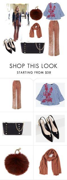 """LOOK INSPIRATION : OLIVIA PALERMO"" by aliciagorostiza on Polyvore featuring moda, Alberta Ferretti, Piel Leather, Tejido, Yves Salomon y TIBI"
