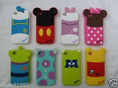Disney Series 2 Silicone case cover compatible for Apple iPhone 4 4G 4S | eBay