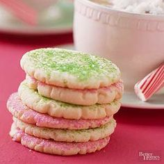 Nothing quite beats the classic taste of traditional sugar cookies! Make these for absolutely any occasion, and decorate them with sprinkles to match!
