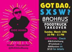 Eddie Huang boards the WK Truck for secret pop up takeover at Viceland/SXSW