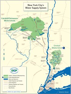 New Yorks Major Waterways Include The Hudson River Loving It - Hudson river on us map