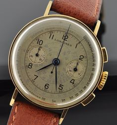 Today, we are bringing you five just plain great vintage watches from Omega, Rolex, Longines, Abercrombie & Fitch (well, Heuer), and Eberhard spanning a range of categories: a diving watch, dress watch, and three chronographs – one for hunting and fishing, one including the date function, and one for a doctor. Basically, they're all awesome, for totally different reasons.