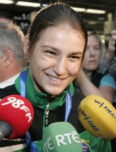 Katie Taylor will lead Team Ireland at the Opening Ceremony of the 2012 Summer Olympic Games in London! Come on Katie! Come on Ireland! Katie Taylor, Female Boxers, Dublin Airport, Visit Dublin, 2012 Summer Olympics, Irish People, Olympic Gold Medals, Olympians, Opening Ceremony